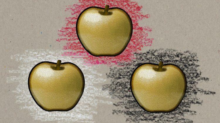 """3 Goldäpfel im Märchen """"Der Eisenhans"""""""