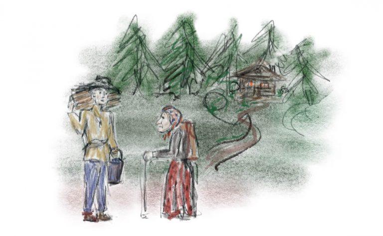 Die alte Weise und der Weg zu Ganzheit