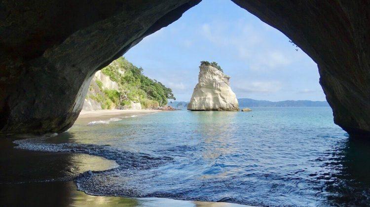 Neue Geburt (Cathedral Cove NZ)