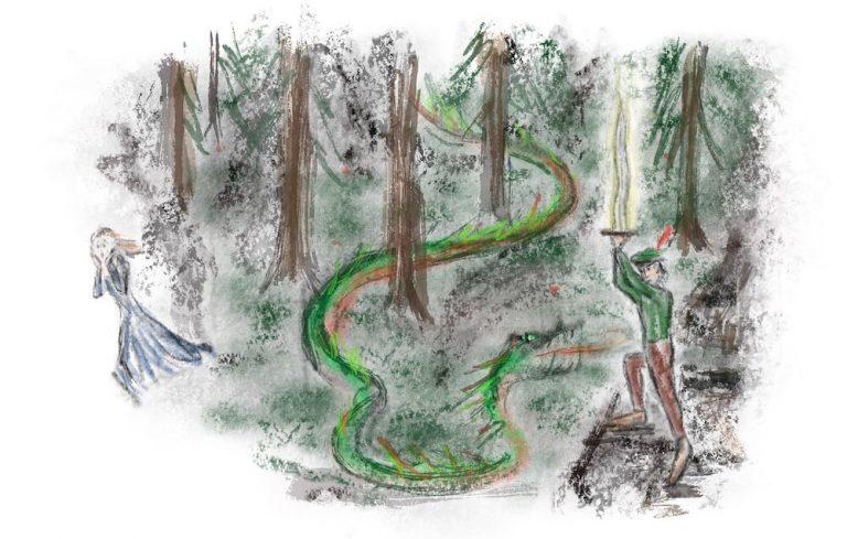 Georgs Kampf gegen die Drachenschlange