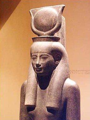 Hathor, ägyptische Göttin der Unterwelt