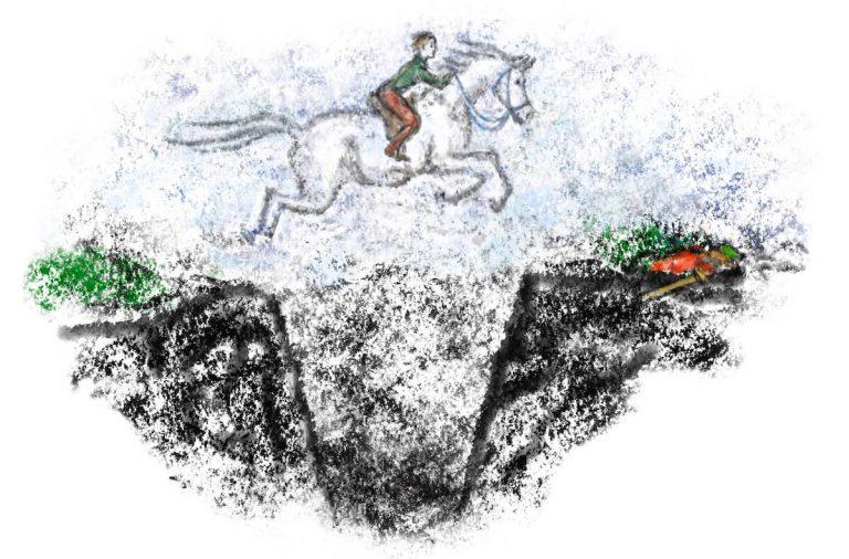Georg und das weisse Pferd