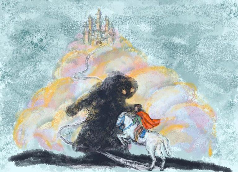 Georg, der schwarze Riese und die Jungfrau