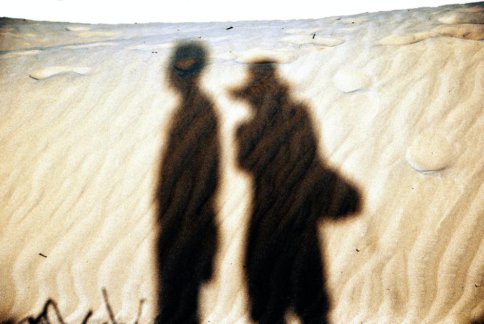 Schatten-Mann-Frau