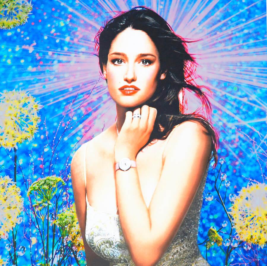 Anima als Göttin (Uhrenwerbung)