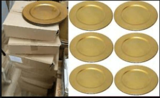 Goldteller für die Ganzheit der Zwölf