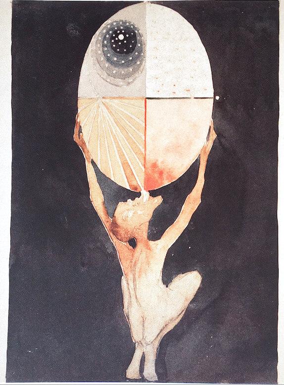 """""""Gollum"""" von Hilma af Klint"""