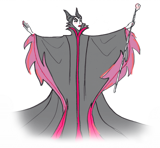 Die böse Fee oder Hexe