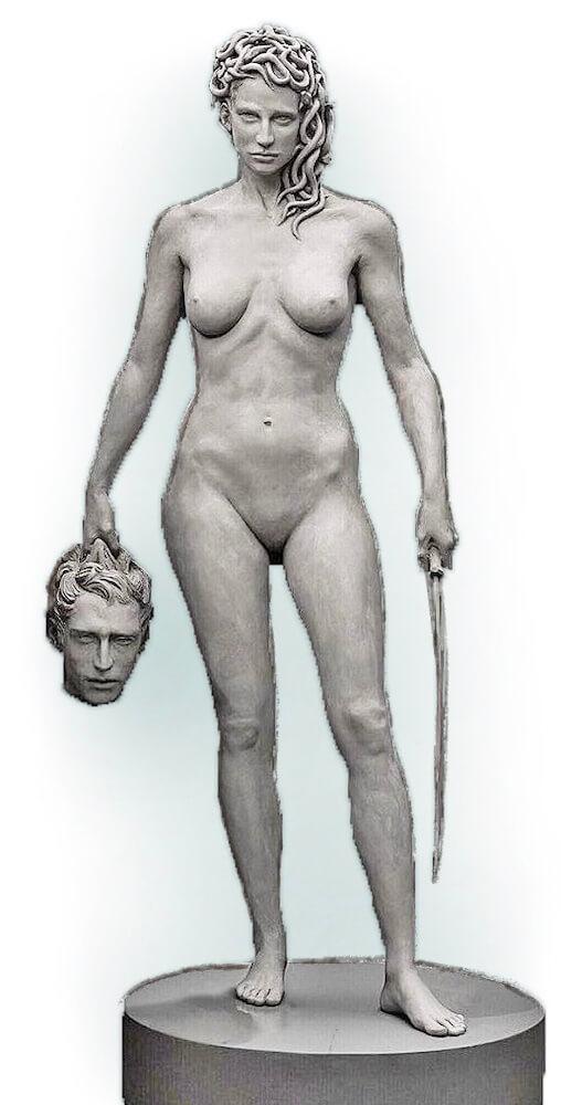 Medusa mit dem Haupt des Perseus (Luciano Garbati)