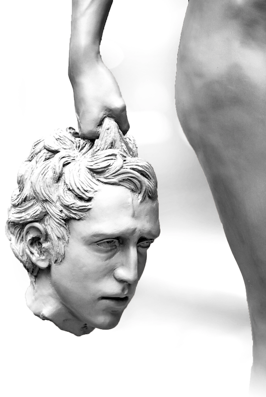 Medusa und Kopf des Perseus (Garbati)
