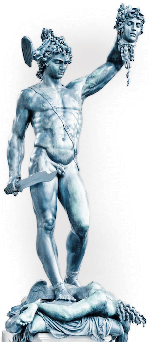 Perseus mit dem Haupt der Medusa (Cellini)