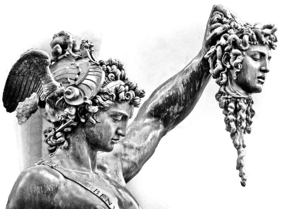 Perseus mit Medusas Haupt (Cellini)