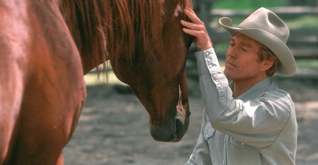 Robert Redford als der Pferdeflüsterer