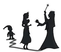 Märchen und Mythen als Schattentheater