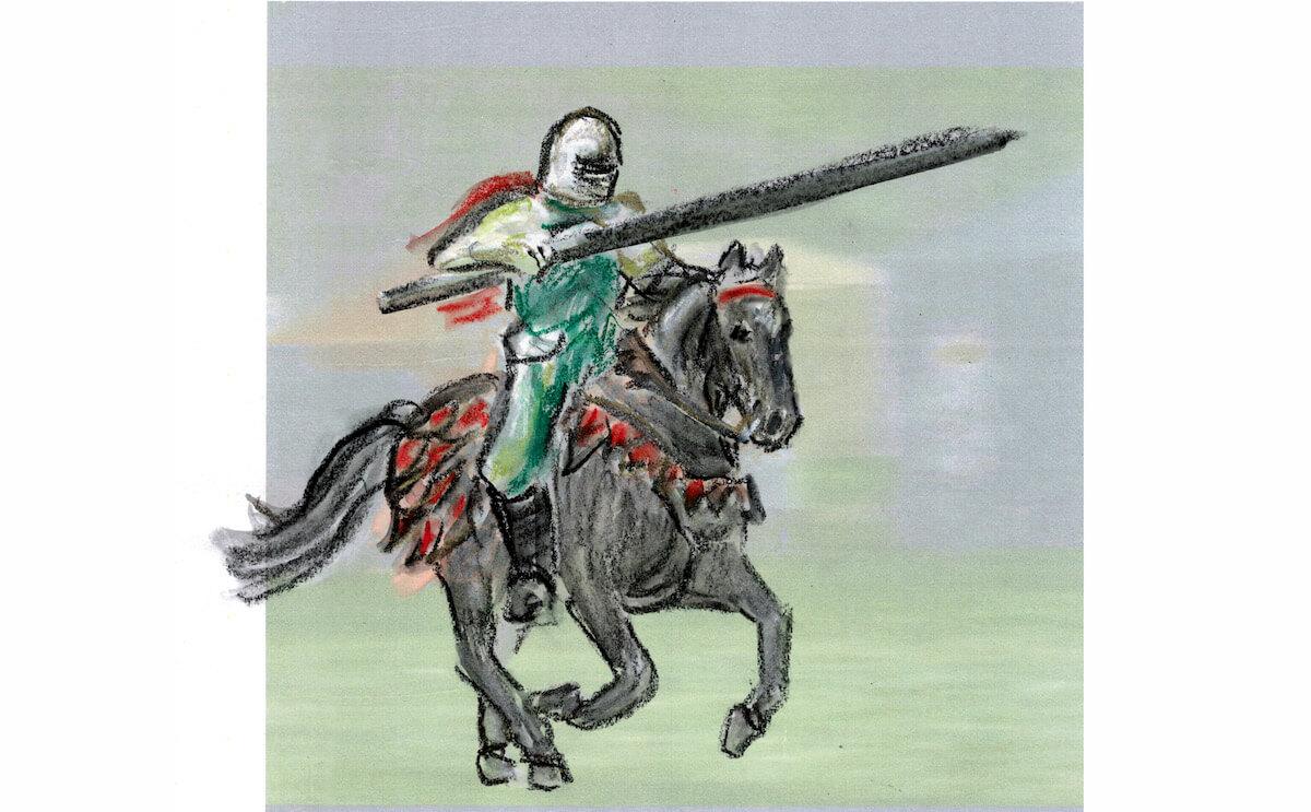 Der siegreiche Ritter in Der Eisenhans