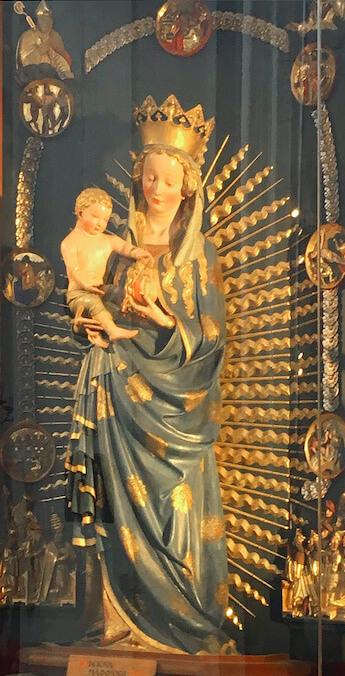 Schöne Madonna, Marienkirche Danzig