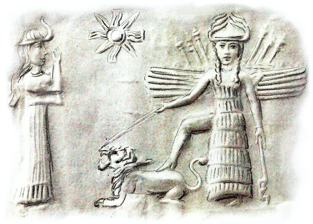 Strahlende Inanna