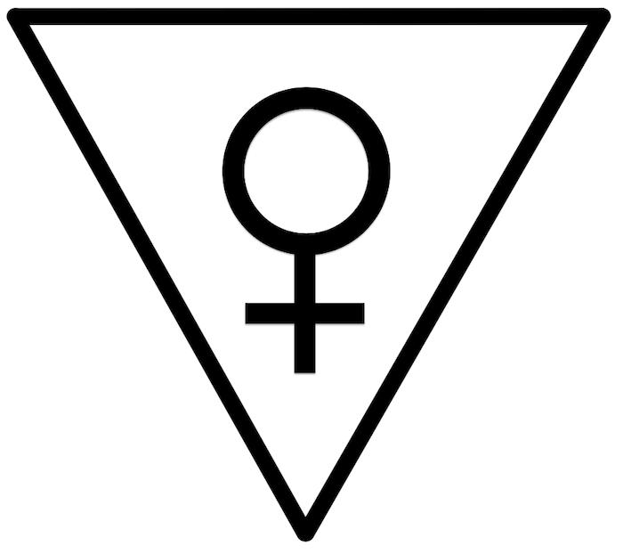 Das weibliche Dreieck: Verankerung in der Materie