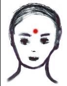 Das hinduistische Bindi