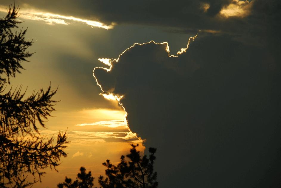 Sonne hinter den Wolken - Geist und Materie