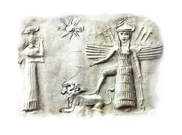Inanna Göttin der Liebe