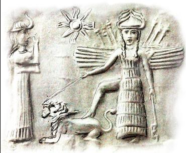 Inanna, die sumerische Göttin der Liebe