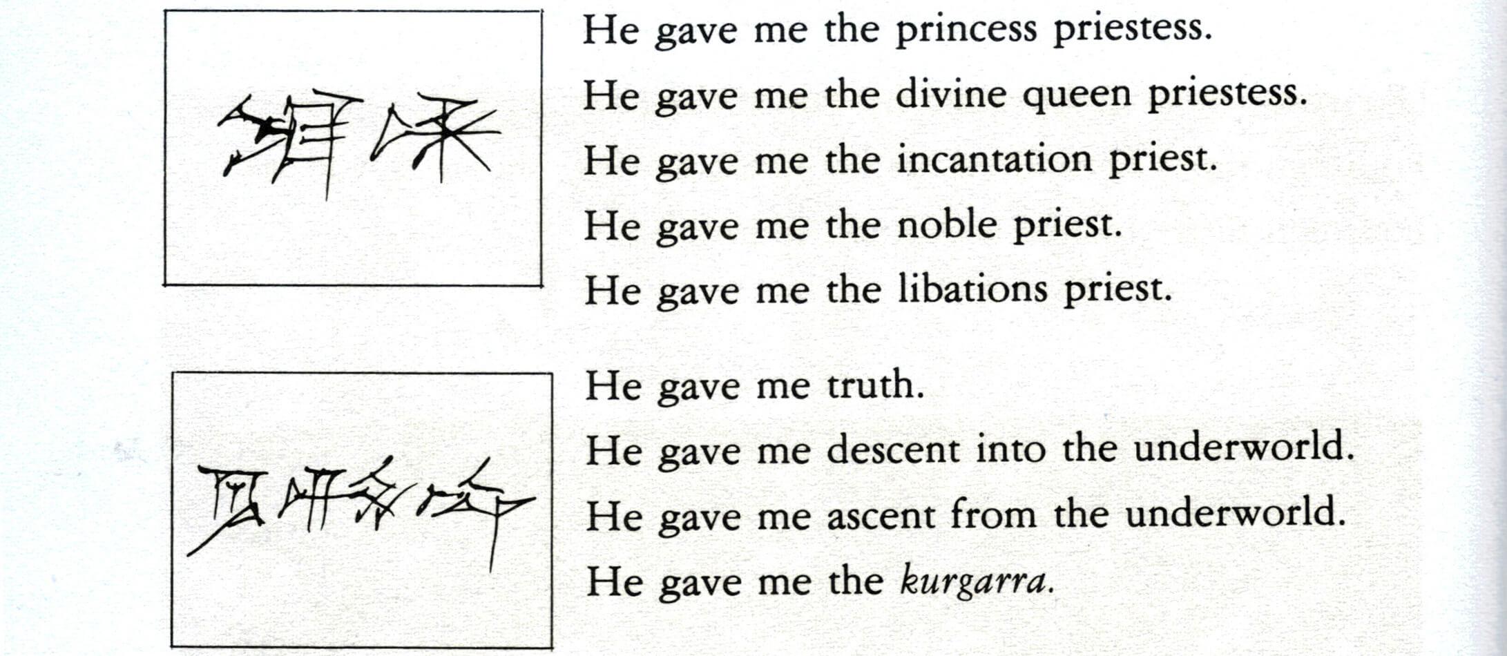 Sumerischer Text